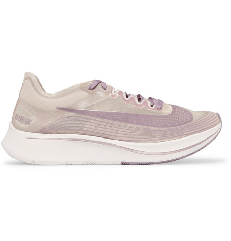Nike Lab Zoom Fly Sp Ripstop Sneakers In Gray