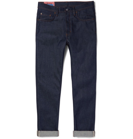 Acne Studios River Tapered Stretch-Denim Jeans