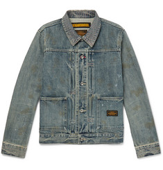 Neighborhood Distressed Denim Jacket