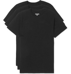 Neighborhood Three-Pack Slim-Fit Cotton-Jersey T-Shirts