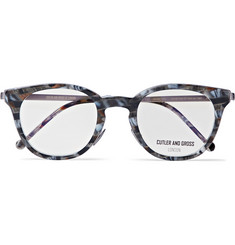 Cutler and Gross Round-Frame Tortoiseshell Acetate Optical Glasses