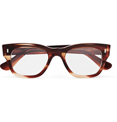 Cutler and Gross - Square-Frame Tortoiseshell Acetate Optical Glasses