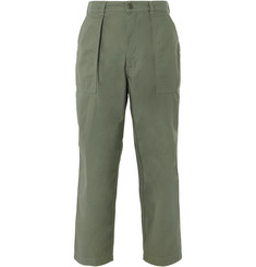 Beams Plus Baker Wide-Leg Cotton Trousers