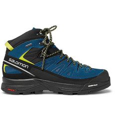 Salomon - X Alp GORE-TEX, Suede and Rubber Hiking Boots