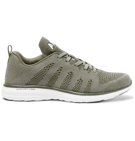 Tech Loom Pro Cashmere Blend Mesh Sneakers by Apl Athletic Propulsion Labs