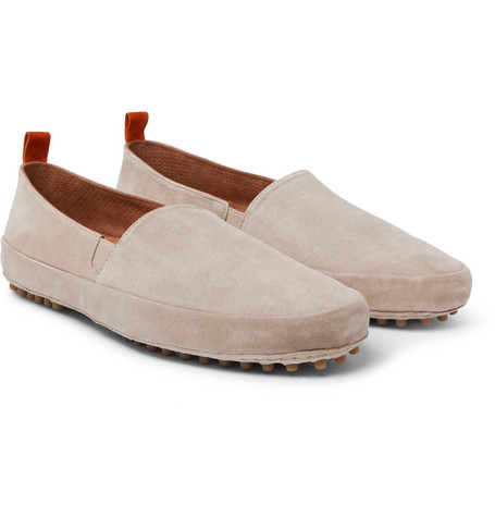Suede Loafers - NavyMulo TZyUdEm