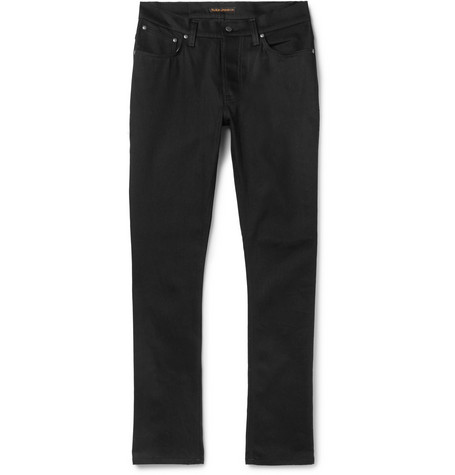 Dude Dan Organic Denim Jeans - Black