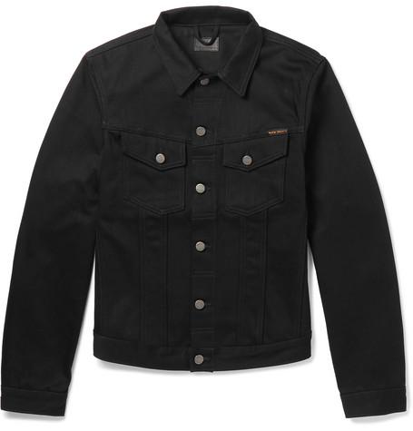 Billy Slim Fit Organic Denim Jacket by Nudie Jeans