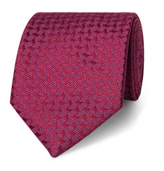 Charvet 7.5cm Patterned Silk-Jacquard Tie
