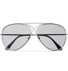 TOM FORD - Aviator-Style Titanium Sunglasses