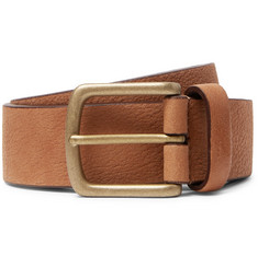 Anderson's 3.5cm Tan Full-Grain Leather Belt