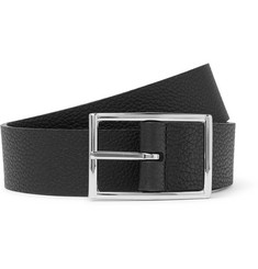 Anderson's - 3.5cm Reversible Full-Grain Leather Belt