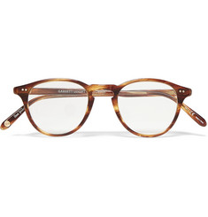 Garrett Leight California Optical - Hampton 46 Round-Frame Tortoiseshell Acetate Optical Glasses