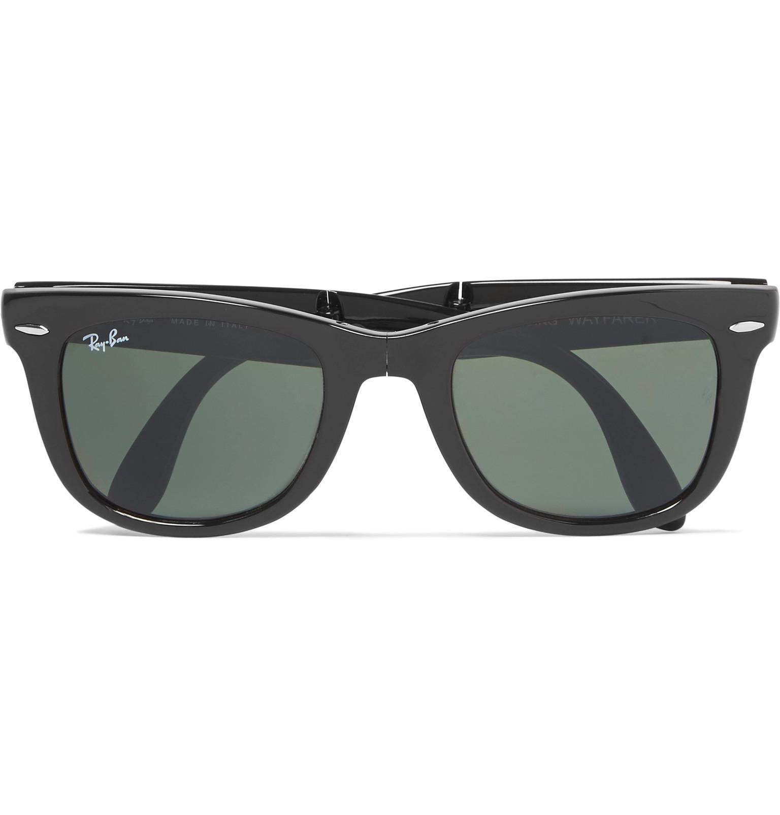 57d49c6df10f7 Ray-Ban - Wayfarer Folding Acetate Sunglasses