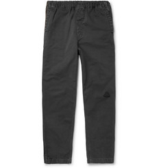 Cav Empt - Tapered Cotton-Twill Drawstring Trousers