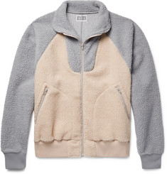 Cav Empt Two-Tone Fleece Jacket