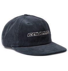 Cav Empt Embroidered Cotton-Corduroy Baseball Cap