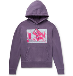 Cav Empt Printed Loopback Cotton-Jersey Hoodie