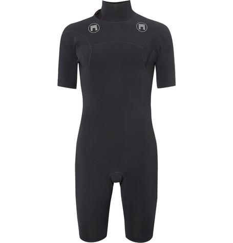 MATUSE Sar Short Geoprene Wetsuit in Black
