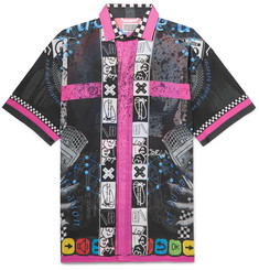Cav Empt Printed Cotton-Voile Shirt