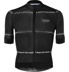 Pas Normal Studios - Road to Nowhere Printed Zip-Up Cycling Jersey