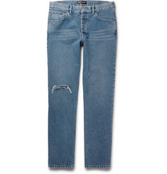 Balenciaga - Archetype Distressed Denim Jeans