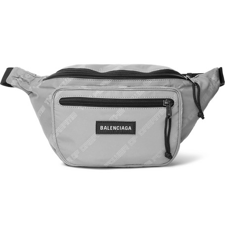 Explorer Printed Shell Belt Bag by Balenciaga