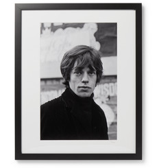 Sonic Editions Framed 1964 Mick Jagger in Soho, London Print, 17