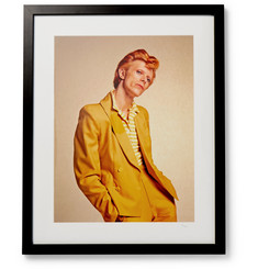 "Sonic Editions - Framed David Bowie Print, 17"" x 21"""