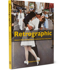 Abrams Retrographic: History's Most Exciting Images Transformed into Living Colour Hardcover Book