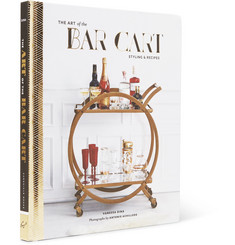 Abrams The Art of the Bar Cart: Styling & Recipes Hardcover Book