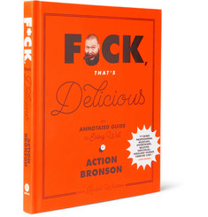 Abrams F*ck, That's Delicious: An Annotated Guide to Eating Well by Action Bronson Hardcover Book