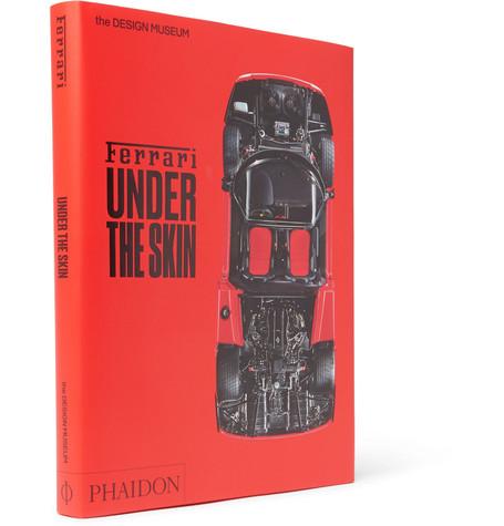 PHAIDON FERRARI: UNDER THE SKIN HARDCOVER BOOK