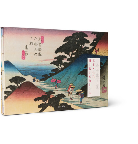 TASCHEN HIROSHIGE AND EISEN: THE SIXTY-NINE STATIONS ALONG THE KISOKAIDO HARDCOVER BOOK