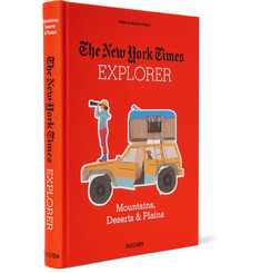 Taschen - The New York Times Explorer: Mountains, Deserts & Plains Hardcover Book