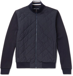 Z Zegna - TECHMERINO Wool-Panelled Quilted Shell Jacket
