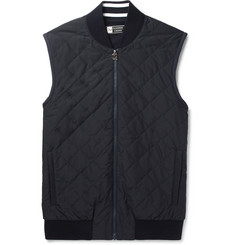 Z Zegna - Quilted Shell and TECHMERINO Wool Gilet