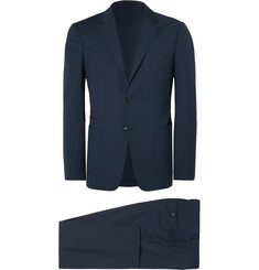 Z Zegna - Navy Wash & Go Slim-Fit TECHMERINO Wool Suit