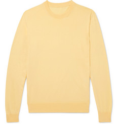 Anderson & Sheppard - Sea Island Cotton Sweater