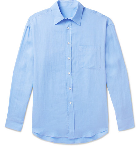 ANDERSON & SHEPPARD Linen Shirt
