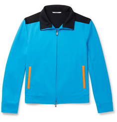 Valentino Colour-Block Jersey Track Jacket