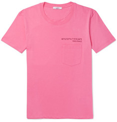 Valentino Anywhen Printed Cotton-Jersey T-Shirt