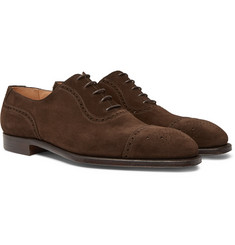 George Cleverley - Adam Suede Oxford Brogues