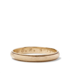 Foundwell 14-Karat Gold Ring