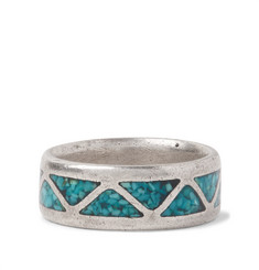 Foundwell - Sterling Silver Turquoise Ring