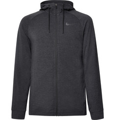 Nike Training - Mélange Dri-FIT Zip-Up Hoodie