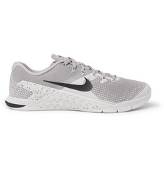 Nike Training Metcon 4 Rubber-Trimmed Mesh Sneakers