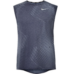 Nike Running Run 365 Printed Perforated Dri-FIT Tank Top