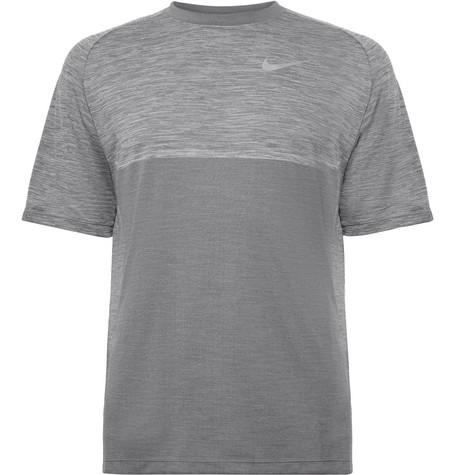 909052c3afd Nike Running - Medalist Mélange Dri-FIT T-Shirt