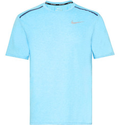 Nike Running Rise 365 Perforated Mélange Dri-FIT T-Shirt